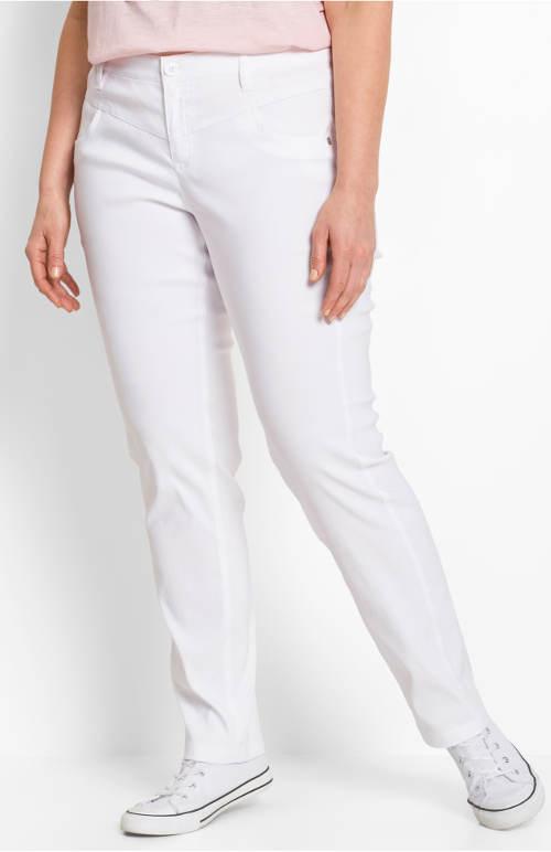 Strečové zeštíhlující dámské kalhoty