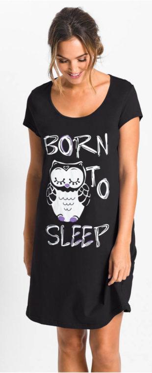 Dámská noční košile se sovou