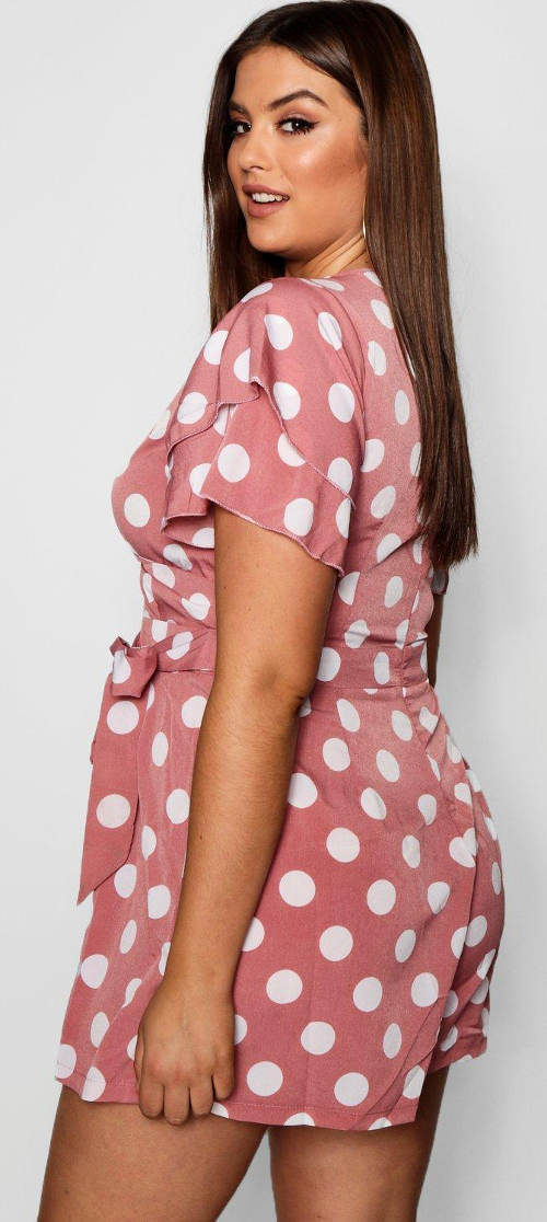 Růžový letní kraťáskový overal