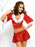 Sexy vánoční kostýmek se sukní