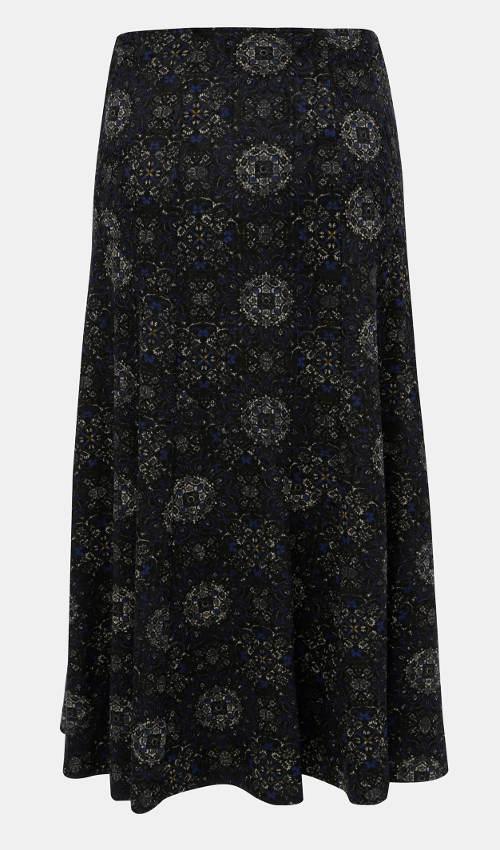 Zimní dámská manšestrová sukně