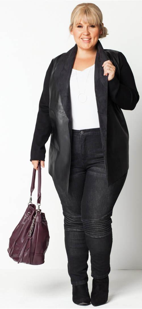 Extra rozměrné džíny pro baculky