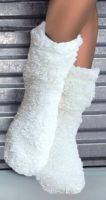Hřejivé dámské zimní ponožky Abi Ecru