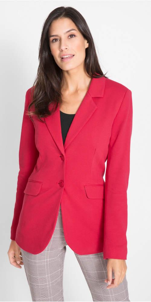 Červené dámské sako