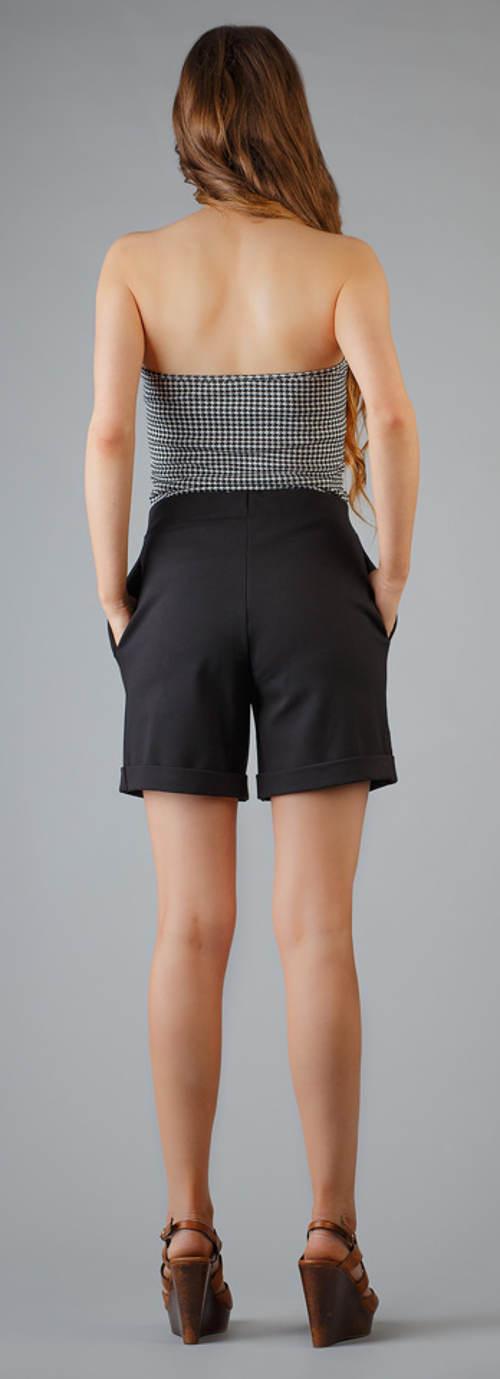 Dámské letní společenské šortky