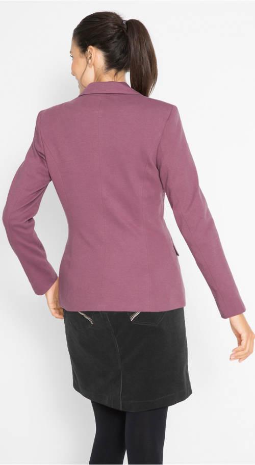 Fialový dámský kabátek