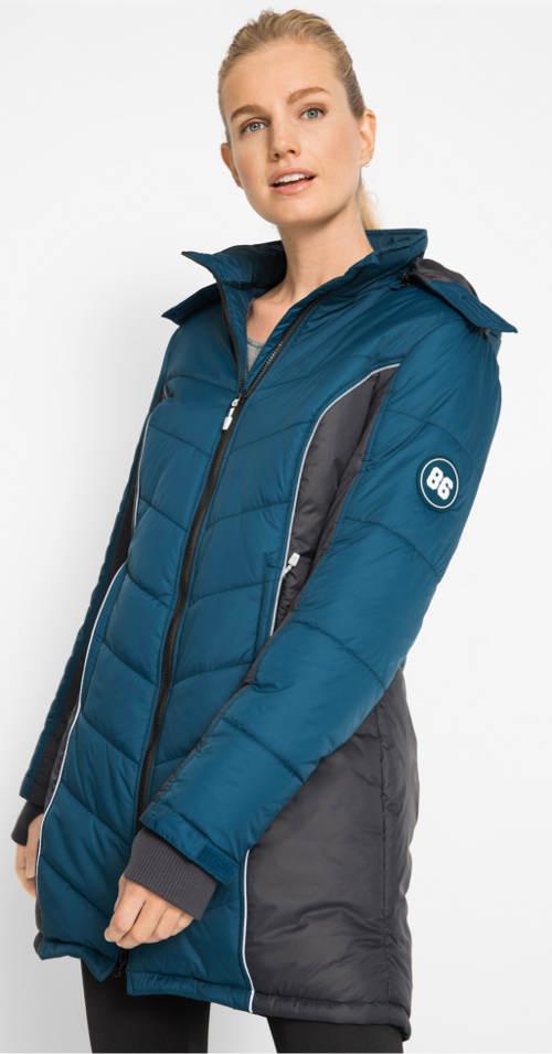 Dámský funkční zimní prošívaný kabát