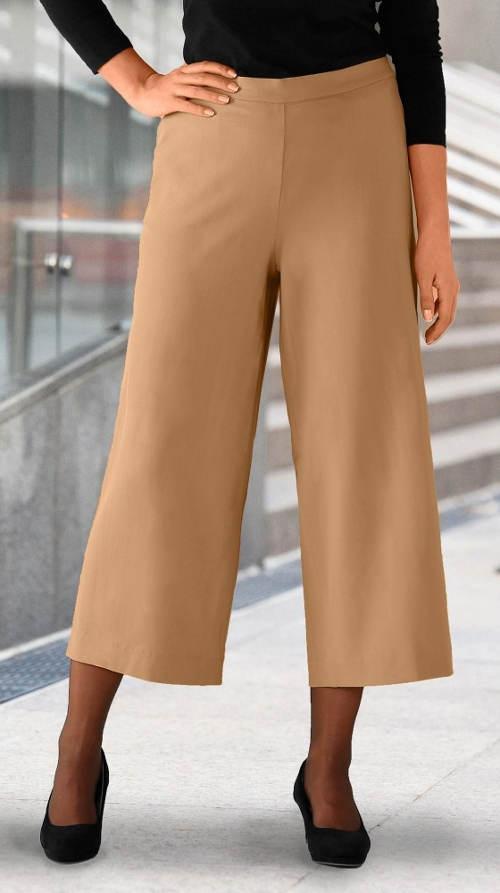 Krátké dámské kalhoty se sklady