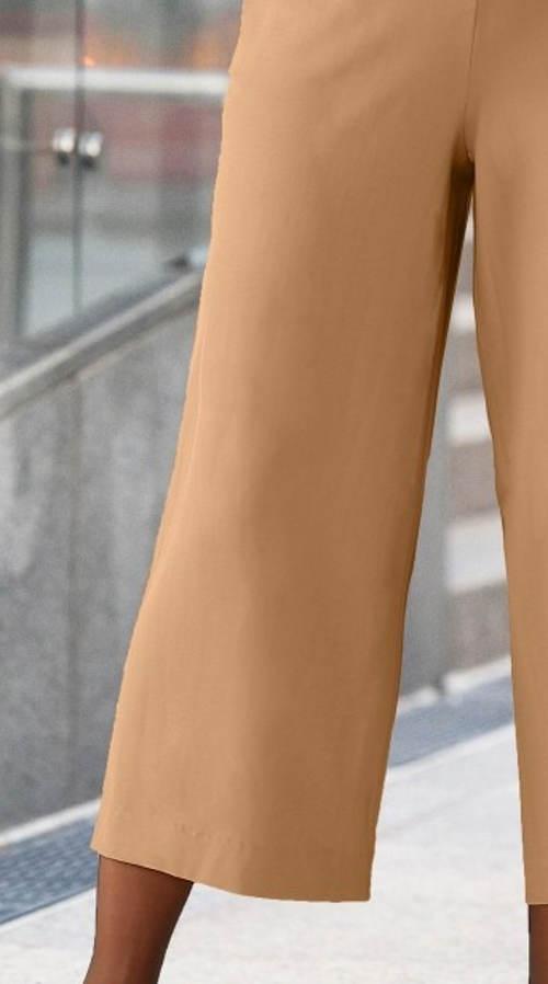 Letní dámské společenské kalhoty