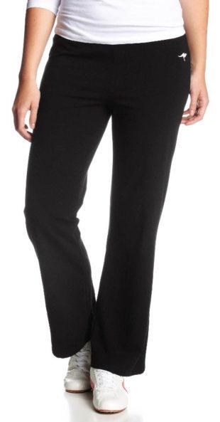 Černé volnočasové dámské kalhoty Jazzpanty