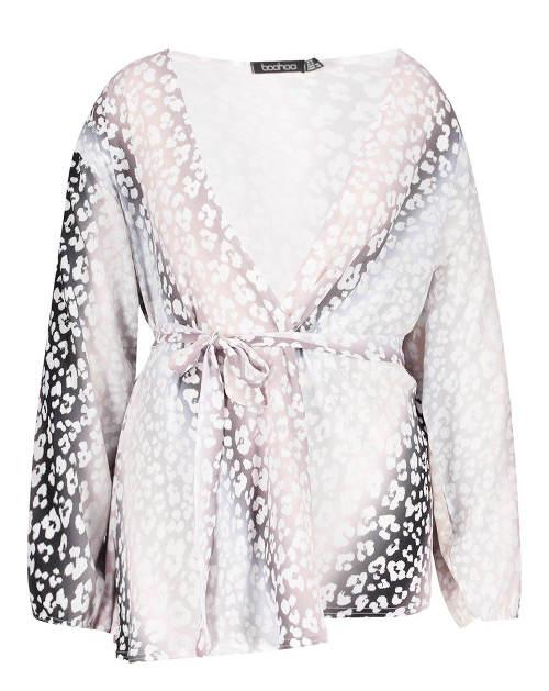 Dámská společenská kimono halenka