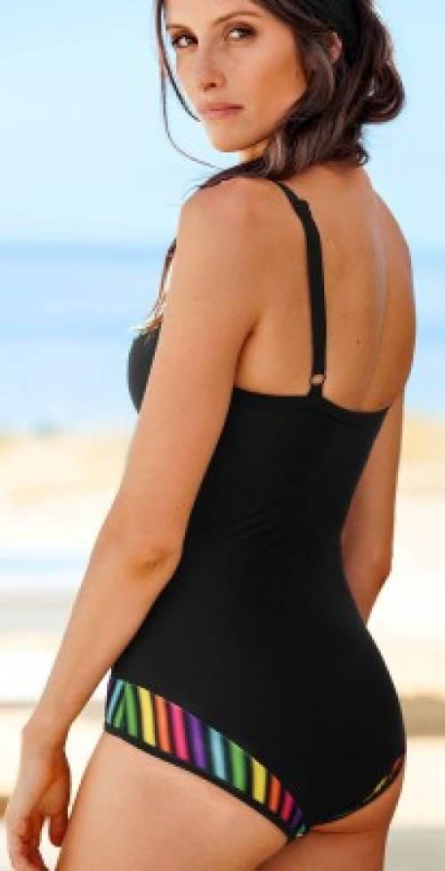 Dámské jednodílné plavky pro širší boky