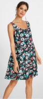 Květinové letní šaty pro plnoštíhlé