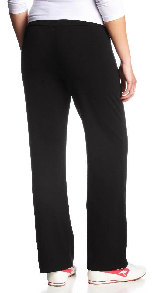 Pohodlné dámské černé kalhoty