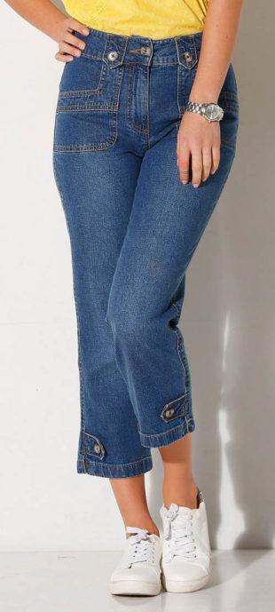 Krátké kalhoty ze strečové džínoviny