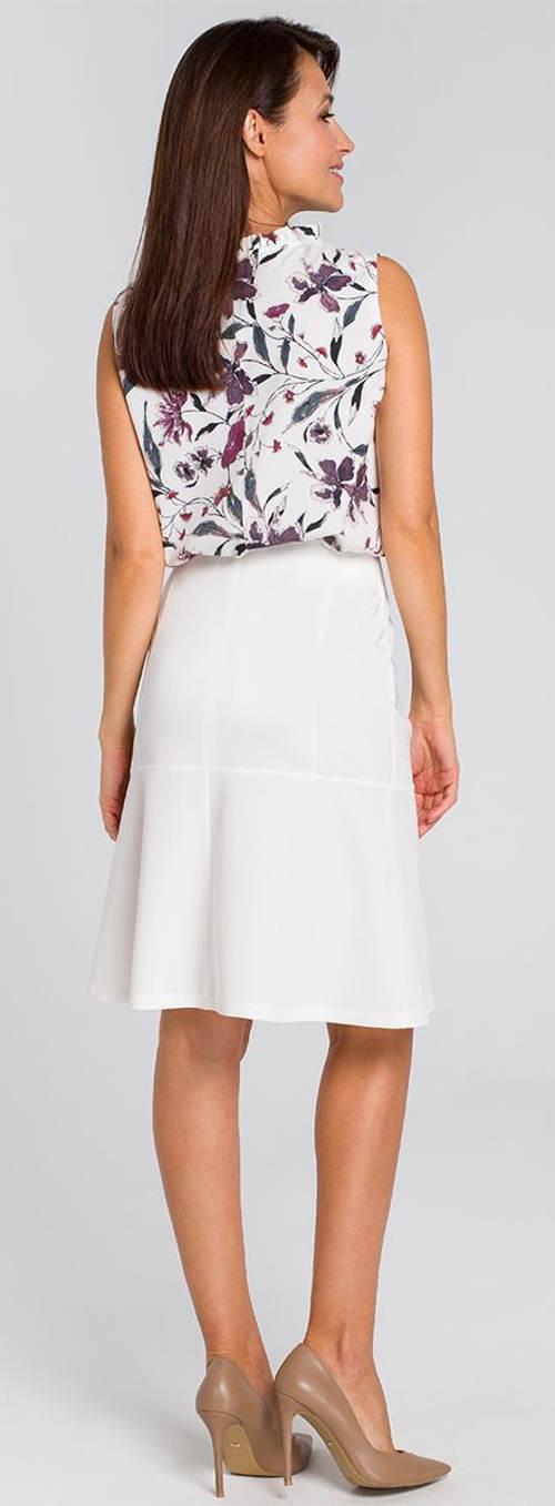 Letní halenka k bílé sukni