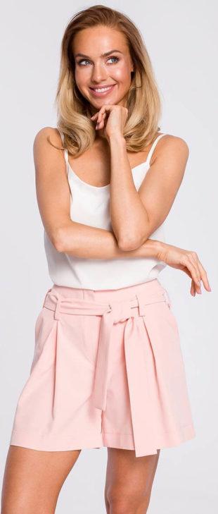 Letní společenské sukňové kraťasy