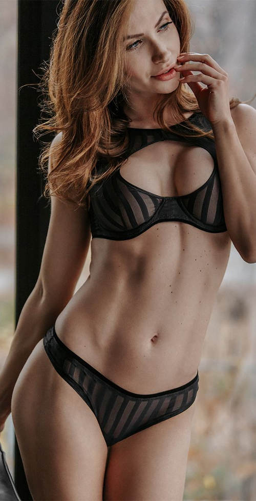 Luxusní dámské spodní prádlo Petite Noir