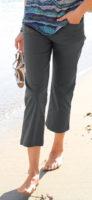 Pohodlné tříčtvrteční kalhoty pro plnoštíhlé