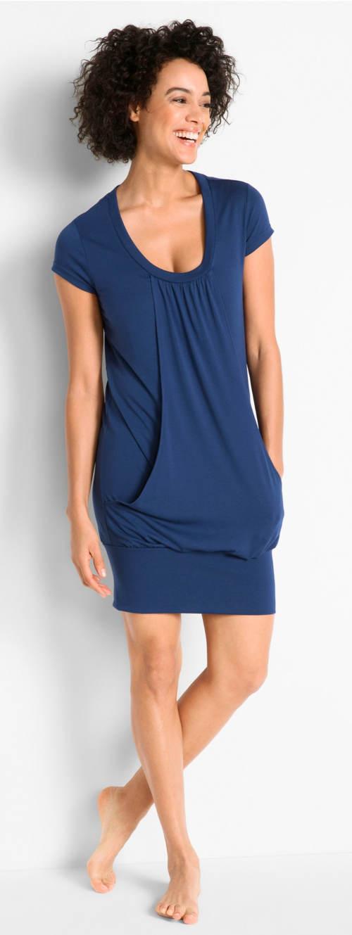 Wellness šaty s krátkým rukávem