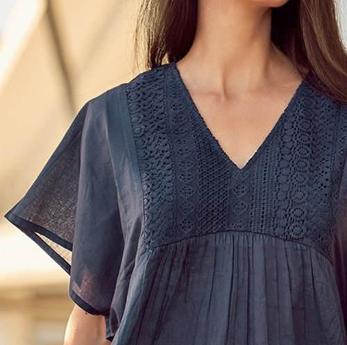 XXL plážové šaty s krajkou