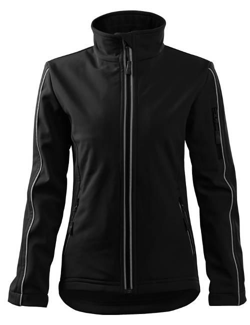 Černá softshellová nepromokavá bunda