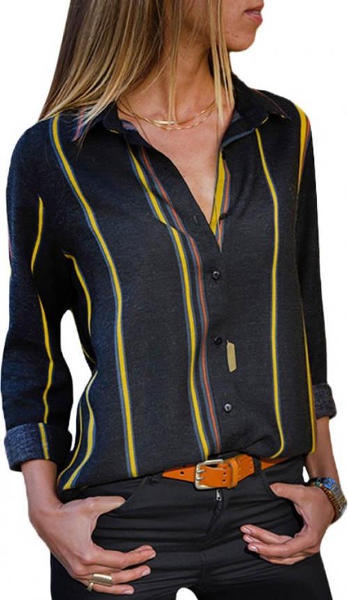 Dámská košile s proužky