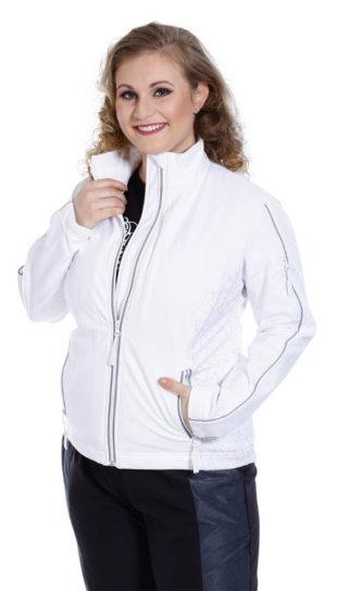 Dámská prodyšná softshellová XXL bunda