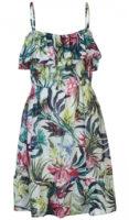 Květinové letní šaty na ramínka