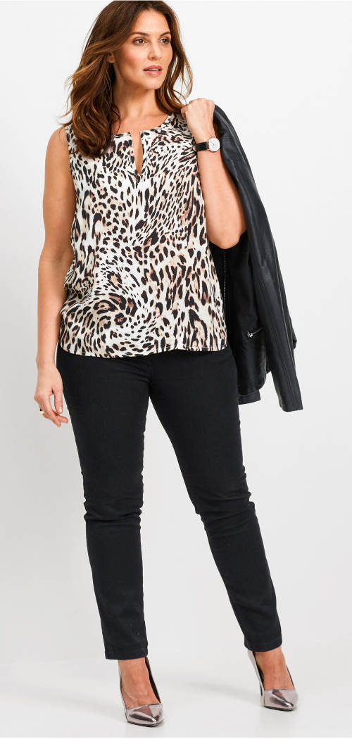 Leopardí letní halenka