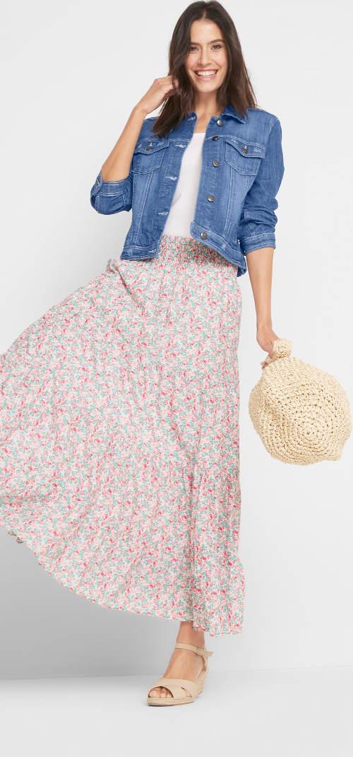 Letní dámská džínová bunda