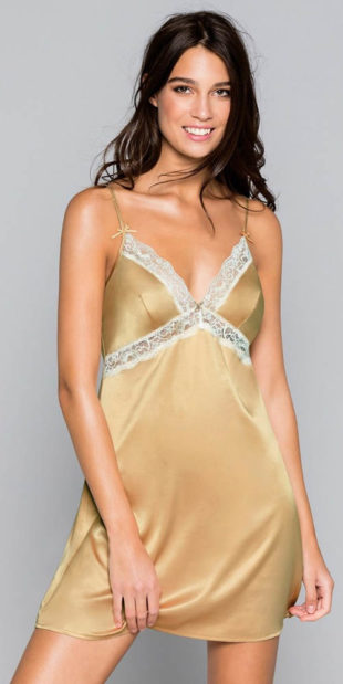 Luxusní zlatá košilka Dorina Savannah