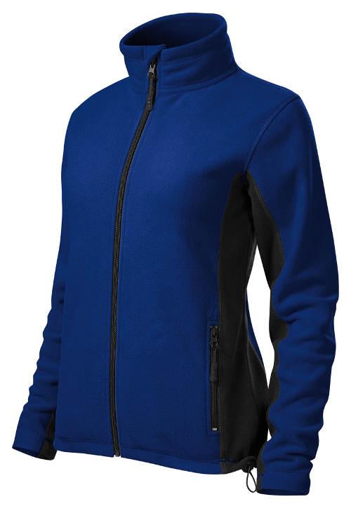 Modrá dámská fleecová bunda