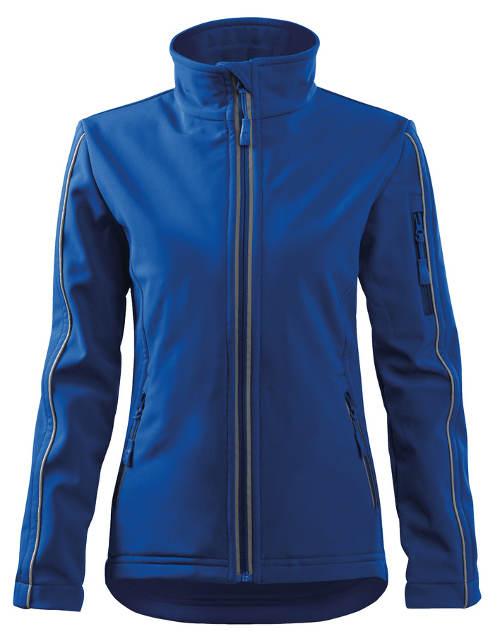 Modrá dámská softshellová bunda