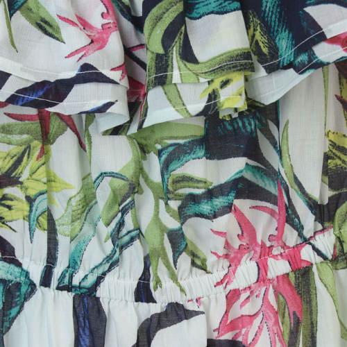 Šaty s květy pro baculky