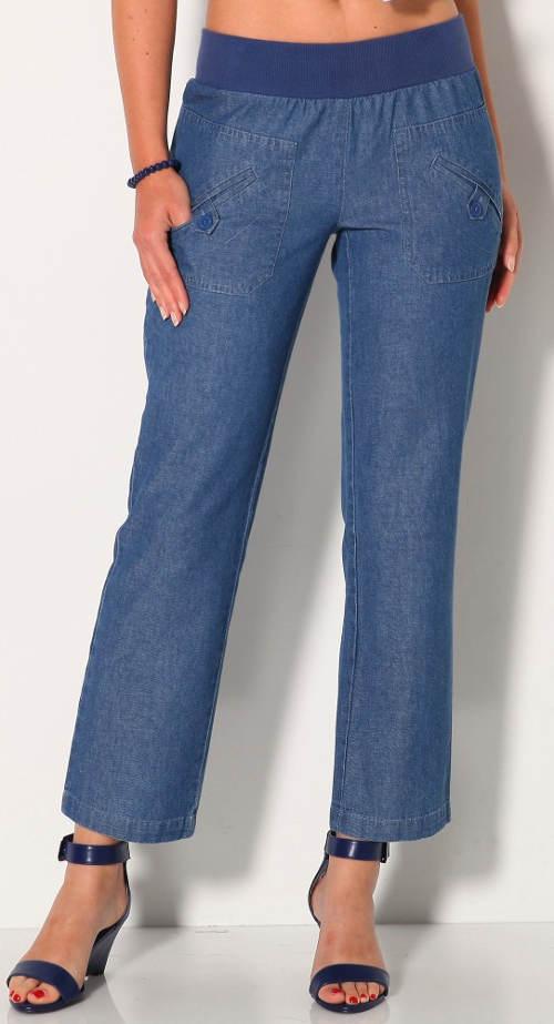 XXL džíny s pasem do gumy