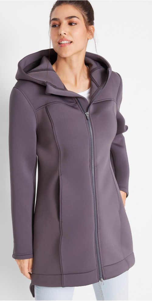 Jednobarevná dámská funkční bunda