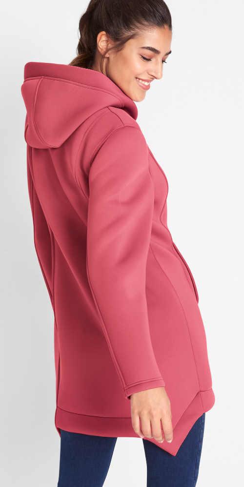 Růžová dámská outdoorová bunda