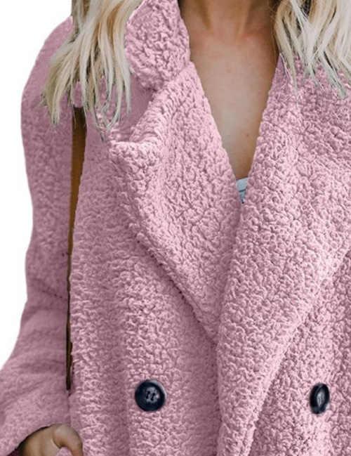 Zimní kabát z hřejivého fleecu