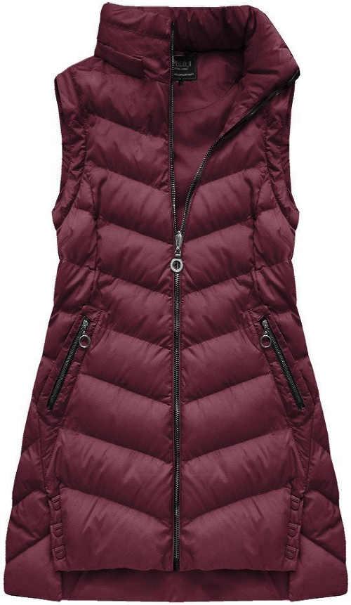 Fialova-damska-zimni-bunda-s-odepinacimi-rukavy