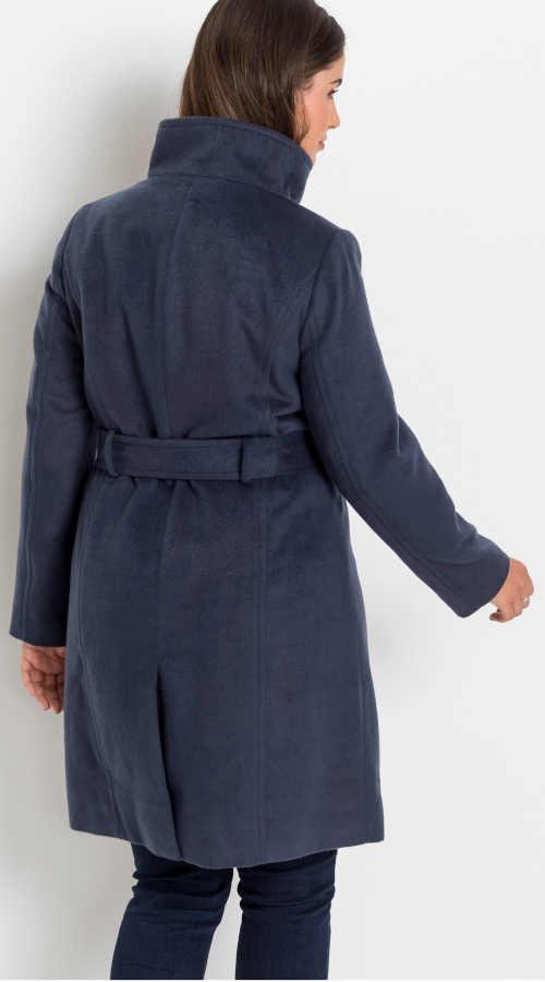 Modrý zimní kabátek