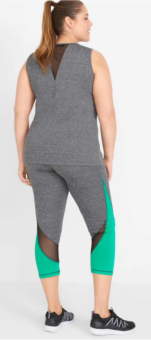 Oblečení do fitka pro baculky