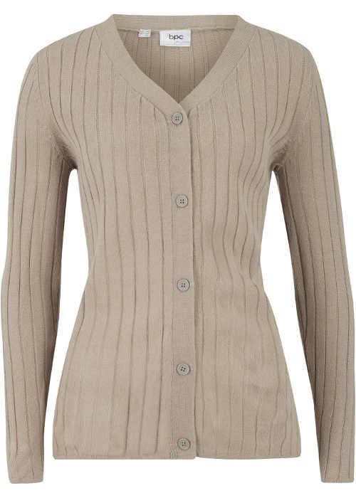 Pletený dámský svetrový kabátek
