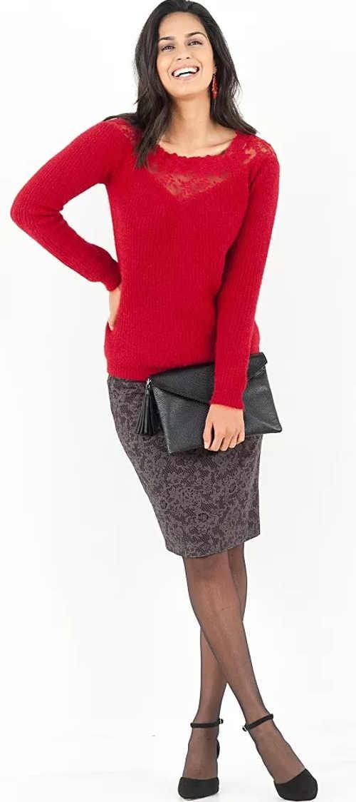 Výprodejová sukně Blancheporte s potiskem
