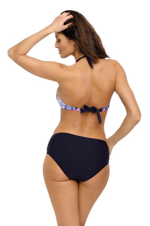 Dámské dvoudílné plavky s maxi kalhotkami