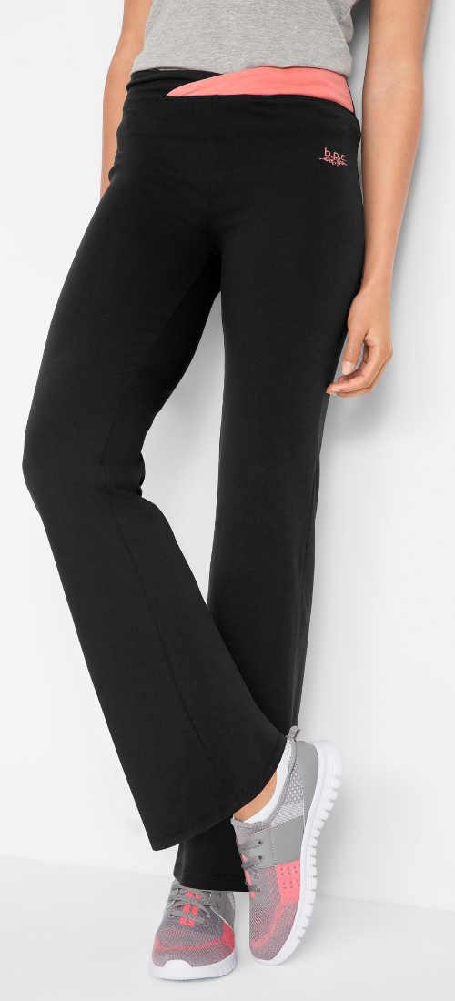 Teplákové sportovní dámské kalhoty