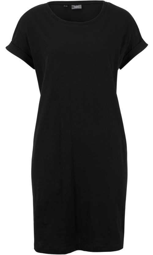 Černé letní šaty Bonprix s krátkým rukávem