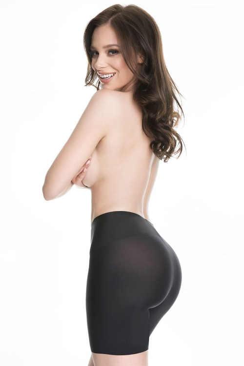 Efektivní tvarující dámské šortky pod oblečení v černém provedení