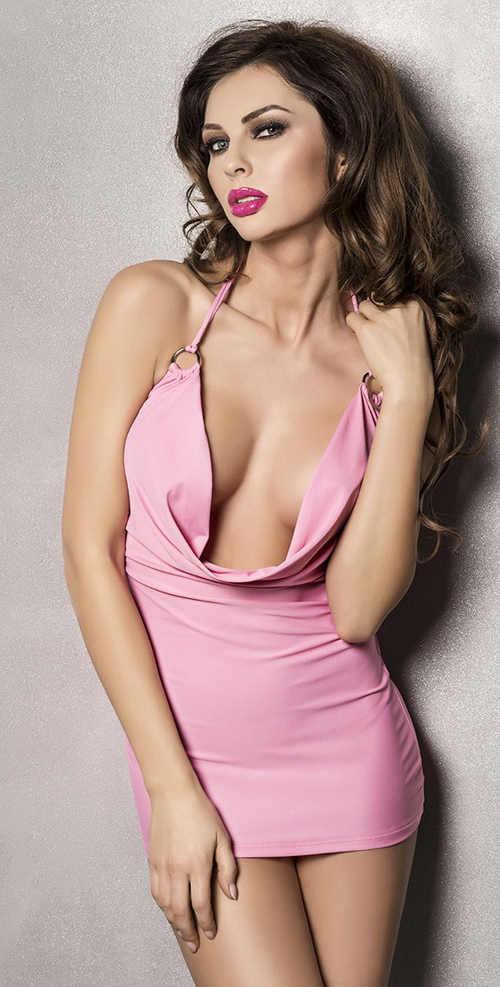 Sexy dámská košilka z příjemné a kvalitní látky pro plnější tvary