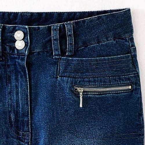 praktické a pohodlné riflové kalhoty size plus